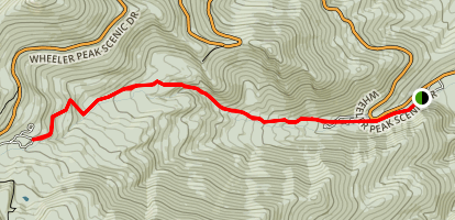 Lehman Creek Trail Map