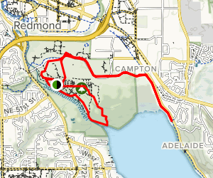 Marymoor Park Trail Map