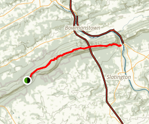 Lehigh Gap via Appalachian Trail Map