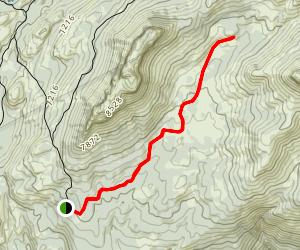Dardanelles Pack Trail Map
