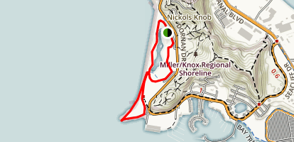 Miller/Knox Regional Shoreline Trail Map