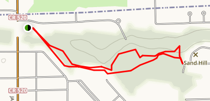 Greenwood Park Trail Map