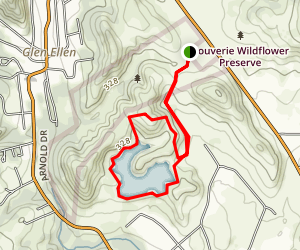 Canyon Ridge Trail Loop Map
