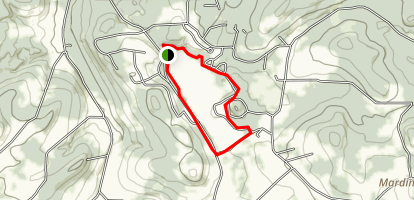 Hills Creek Lake Trail Map