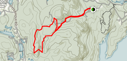 Buck Mountain Trail Map