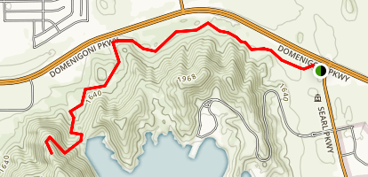 Diamond Valley Lake North Trail Map