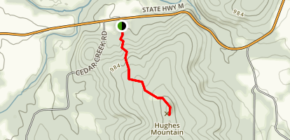 Devil's Honeycomb Trail  Map