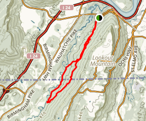 Skyuka Trail Map
