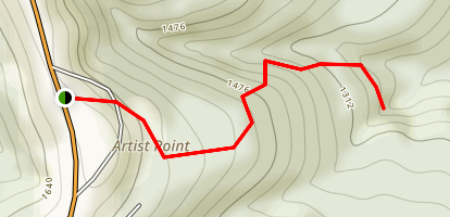 Artist Point Trail Map