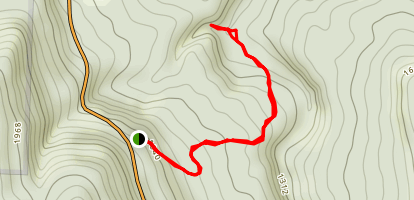 QuiVaLa Elise Falls Trail Map