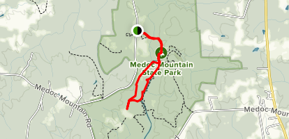 Discovery Loop Trail Map