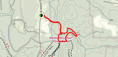 Dam Site Loop Trail Map