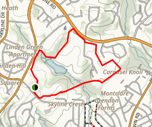 Carousel Park Trail Map