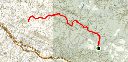 Laurel Fork Trail Map