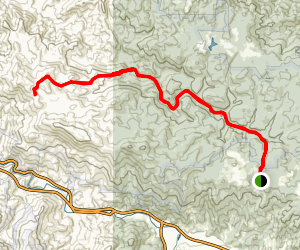 Laurel Fork via Appalachian Trail Map