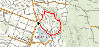 Fountain Park Overlook Trails Map