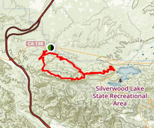 Cleghorn Mountain Loop Trail Map