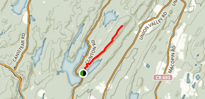 Bearfort Mountain Lookout Trail  Map