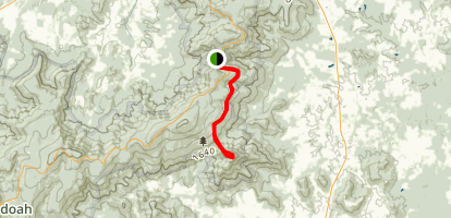 The Peak Trail Map