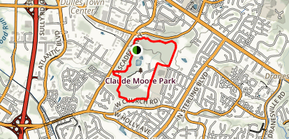The Scout Trail (Blue Trail)  Map