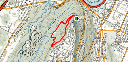 Cravens House Loop Trail Map