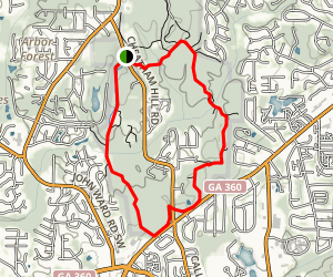 Kolb's Farm Loop Trail Map