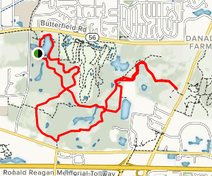 Herrick Lake Trail Map