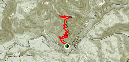 Henline Mountain Trail Map