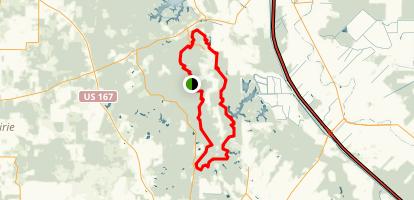 Lake Chicot Loop Trail Map