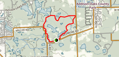Graham Lakes Trail Map