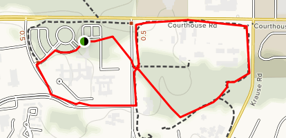 Chesterfield Government Center Trails Map