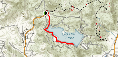 Dixon Lake Trail Map