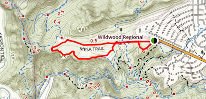 Stagecoach Bluff Loop Trail Map