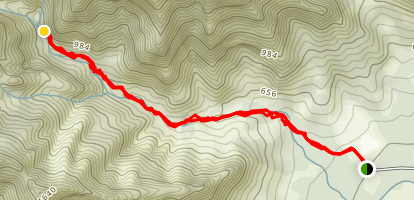 Makaleha Hike Map