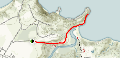 Mokolea Point Trail Map