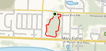 Mary Ester Florida Map.Oak Tree Nature Park Trail Florida Alltrails