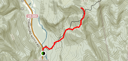 Mount Crawford Trail Map