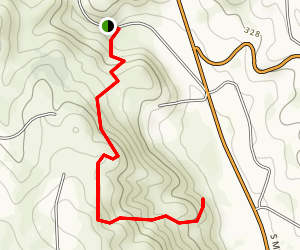 Heller's Bend Preserve Trail Map
