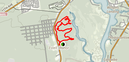 Estell Manor County Park Trails Map