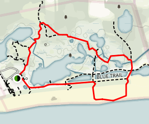 Cape May Point Trail Map