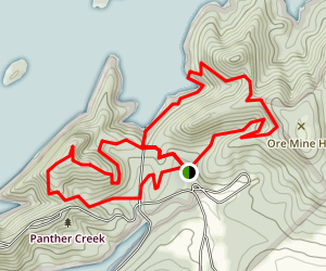 Panther Creek Park Trails Map