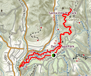 DeLaveaga Park Trail Map