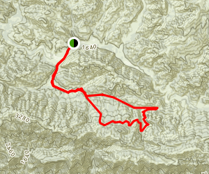 Blue Canyon Trail Map