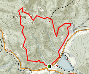 Johnson Farm & Harkening Hill Trail Map