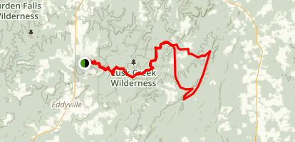 Shawnee National Forest Trail Map