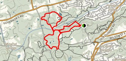 Dundas Valley Trail Map