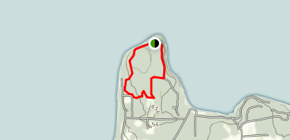 Deathdoor Bluff Trail Map