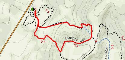 Rim Rock Loop Trail Map