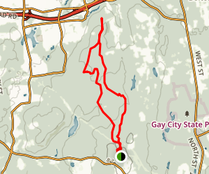 Glacial Boulders Trail Map