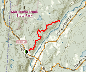 Caleb Peak Trail Map